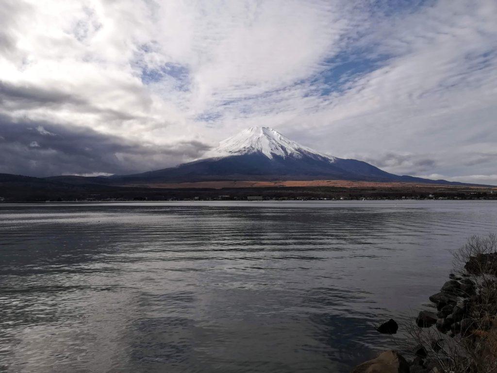 2019年12月6日の富士山