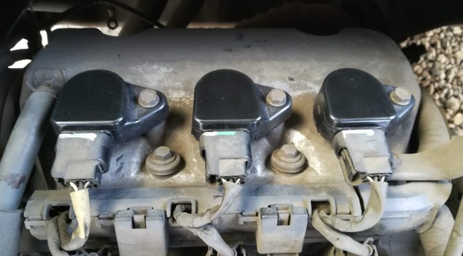 バモスエンジン不調